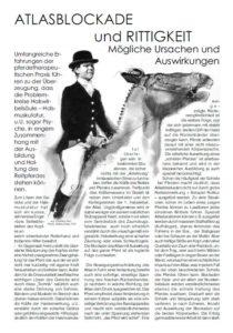 Atlasblockade-und-Rittigkeit von Pferden, Behandlung